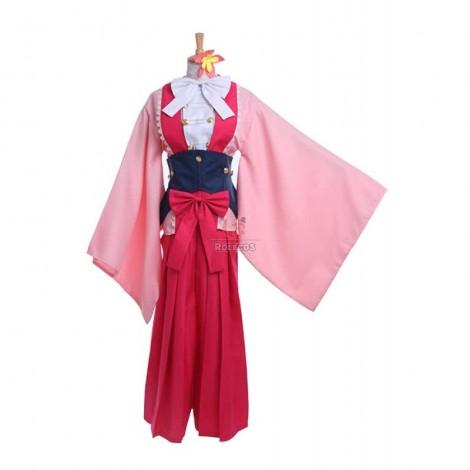 Kabaneri of the Iron Fortress Ayame Yomogawa Cosplay Costumes