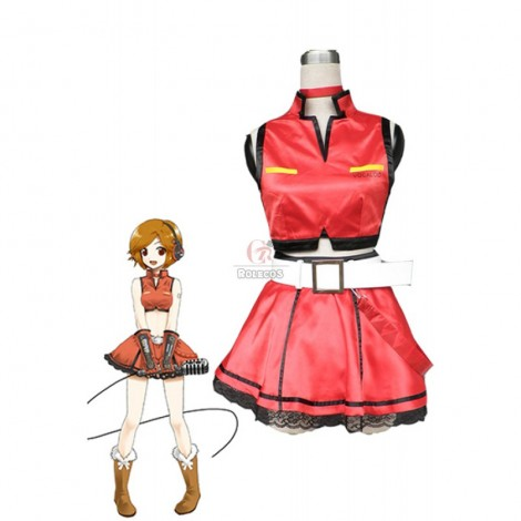 Vocaloid MEIKO Cosplay Costume Cool Skirt