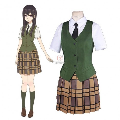 Anime Citrus Mei Aihara Uniform Dress Cosplay Costumes