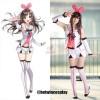 A.I.Channel Virtual Youtuber Kizuna AI Cosplay Costume Full Sets
