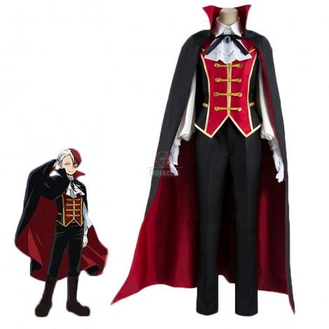 My Hero Academia Shōto Todoroki Anime Halloween Vampire Cosplay Costume