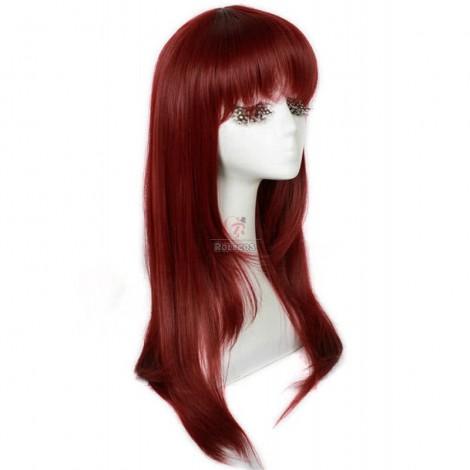 60cm Purple Ludere deorum Yui Kusanagi Cosplay Wig