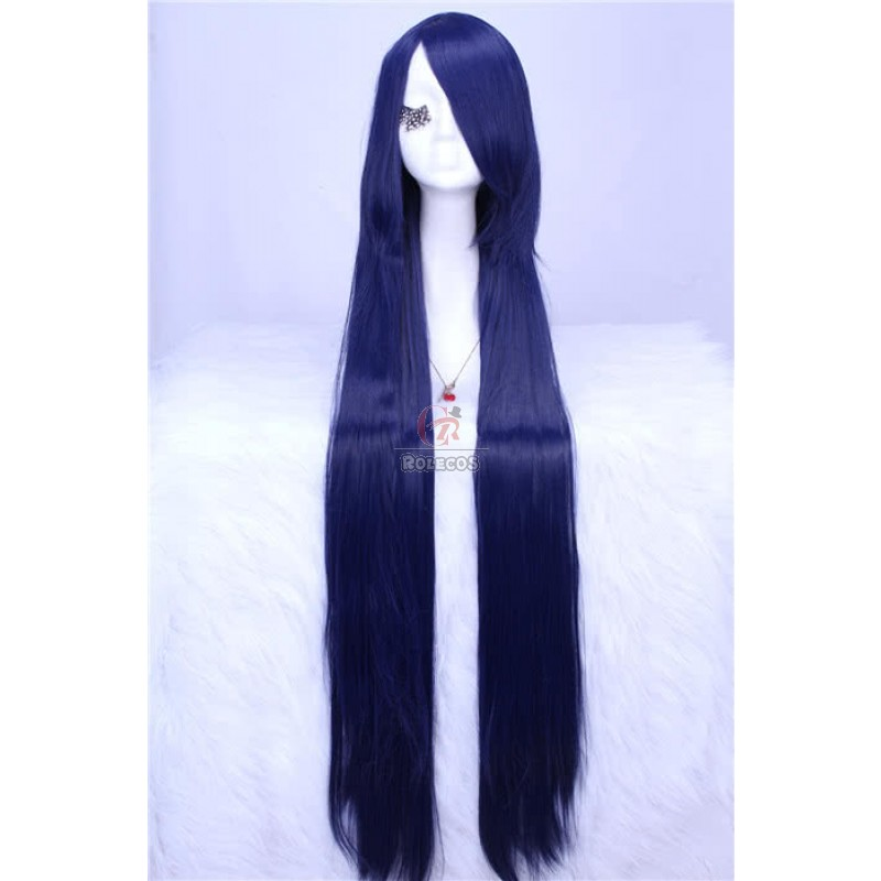 100cm long dark blue...