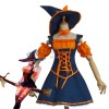 LOL Wild Huntress Nidale Halloween Witch Cosplay Costume