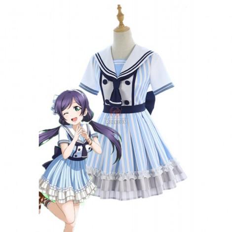 Love Live Pirate Set Nozomi Tojo Cute Dress AnimeCosplay Costumes
