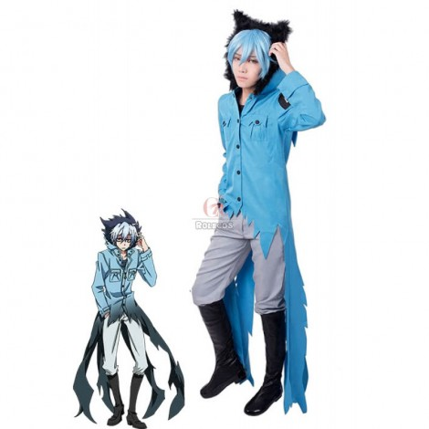 Servamp Kuro Customized Anime Cosplay Costumes