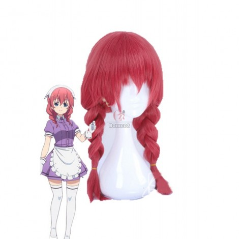 Blend S Miu Amano Red Anime Cosplay Wigs