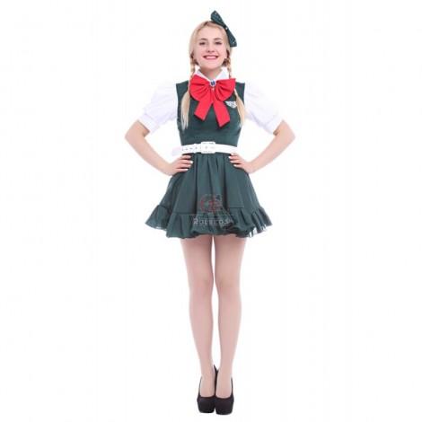 Cosplay Costume Super Dangan Ronpa 2 Sonia·Nevermind Uniform dress