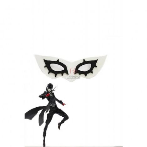 Persona 5 Joker Black And White Plastic Game Cosplay Masks