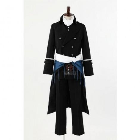 Hakuoki Saito Hajime Cosplay Costume Custom Made