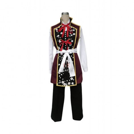 Hakuouki Chizuru Yukimura Swordman Cosplay Costume
