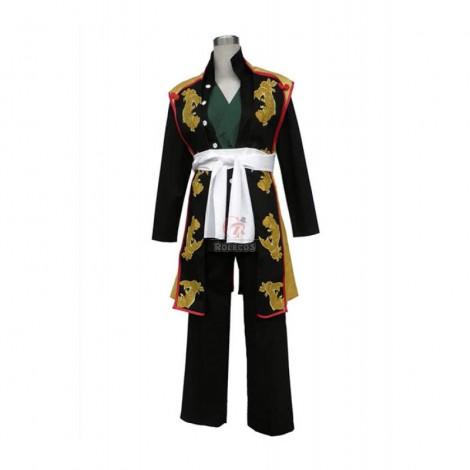 Hakuouki Souji Okita Swordman Cosplay Costume