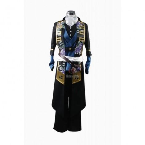Hakuouki Hijikata Toshizo Cosplay Costume Custom Made