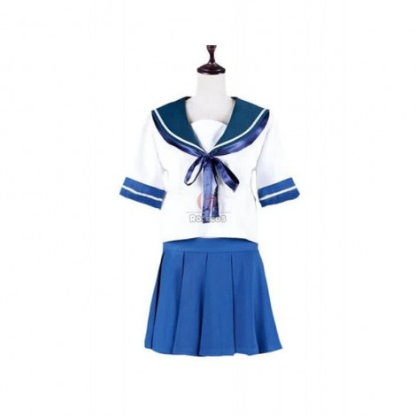 Kantai Collection Sazanami Cosplay Costume