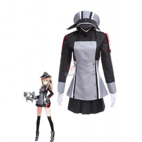 Kantai Collection Kancolle Amime Game Prinz Eugen Salor Uniform Cosplay Costumes