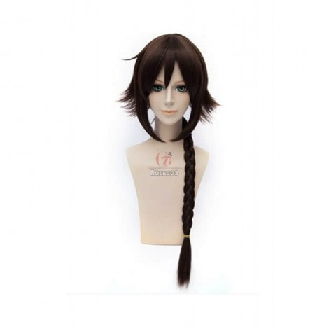 60cm Brown Braid Kantai Collection Shigure Cosplay Wig
