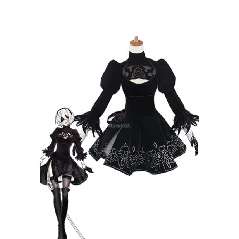 Action Role-Playing Video Game Nier: Automata Game 2b Cosplay Costumes
