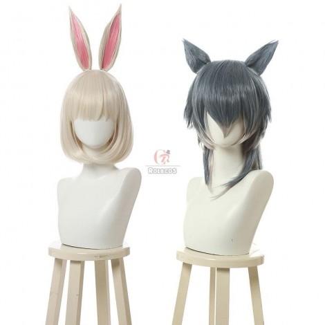 BEASTARS Haru & Legoshi Anthropomorphic Wig Cosplay Wigs Contains Ears